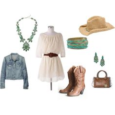 Cowgirl outfit, created by ahguthrie.polyvore.com (lindsey)