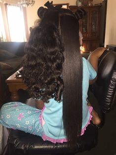Professional Hair Straightener - Which One Should You Buy? Pelo Natural, Long Natural Hair, Thick Hair, Long Relaxed Hair, Black Girls Hairstyles, Straight Hairstyles, Toddler Hairstyles, Curly Hair Styles, Natural Hair Styles
