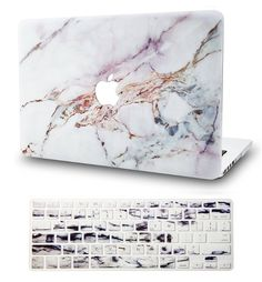 KEC Marble Macbook Case Package for Macbook Air & Pro 15 inch including marble Macbook cover, matching marble keyboard cover, Macbook sleeve bag and screen protector. Macbook Air Stickers, Best Macbook, Laptop Case Macbook, New Macbook Air, Macbook Air 13 Inch, Laptop Stand, Laptop Cases, Iphone Cases, Macbook Air Accessories