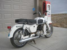 1966 Honda CA95 Benly  150cc Twin Cylinder with 4 speed Transmission