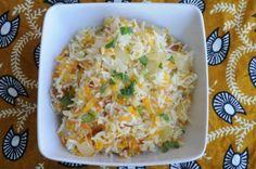 Coconut Carrot Rice