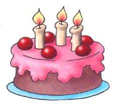 Картинка торта со свечами анимационная