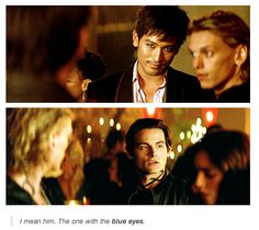 Malec!! TMI movie scene - look at how perfect Godfrey Gao is as Magnus