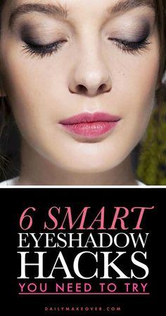 6 eyeshadow hacks every girl should know