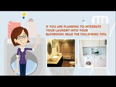 If you are one of those planning to integrate a laundry into your bathroom, here are the tips! Check this out! Plumbing Problems, Bathroom Laundry, Problem And Solution, Beautiful Bathrooms, Trivia, Integrity, Wednesday, Australia, How To Plan