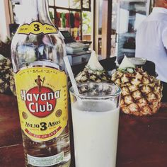 Pina Colada with Havana Club Rum