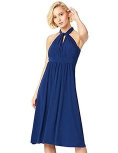 Kleid in royalblau