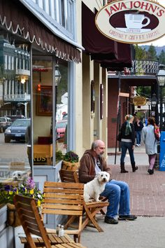 Java Johns is a cozy shop and a local favorite with beautiful art and fresh baked goods in by Cozy Coffee, Coffee Shop, Coffee Break, Beautiful Day, Beautiful Pictures, Grass Valley, Nevada City, Green Business, Coffee Girl