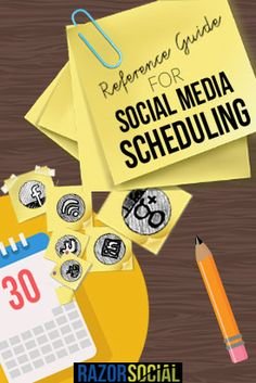 A Reference Guide for Social Media Scheduling - Tools and Tactics - Social media and content marketing technology