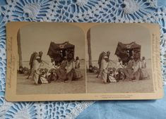 Antique stereo photo/stereoview Strohmeyer&Wyman NY Libyan Desert Africa 1890s' Antique Photos, Vintage Photos, Coin Press, Vitiligo Skin, Cat Toys, Photo Cards, Middle East, Africa, Antiques