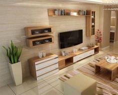 48 Super Ideas For Living Room Tv Wall Decor Apartments Furniture Tv Cabinet Design, Tv Wall Design, House Design, Tv Console Design, Tv Console Decorating, Tv Console Modern, Design Room, Tv Unit Decor, Tv Wall Decor