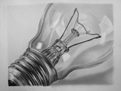 Light Bulb by e11even-design on deviantART - Pencil Drawing #Art