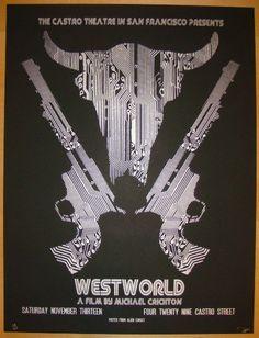 "2010 ""Westworld"" - Silkscreen Movie Poster by David O'Daniel"