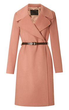 BEST OF SALE: Shop Double-Faced Cashmere Belted Coat by Marc Jacobs Now Available on Moda Operandi