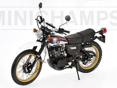 Yamaha XT 500 (1981) Diecast Model Motorcycle