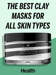 Not only is slathering on a face mask a pampering pick-me-up after a long day, but it's great for your skin. From sheet masks to cream masks to masks that harden then peel off, different formulas and ingredients may work better for certain skin types. But experts say there's one type of mask that most people can benefit from: the tried-and-true clay mask. | Heath.com #CharcoalMaskBenefits