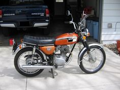 1973 CB125- the number one choice if I decide to get a bike.