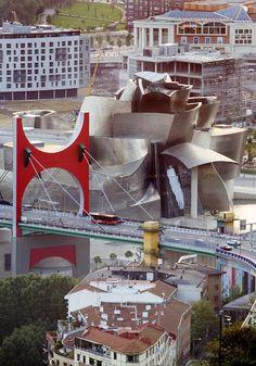 Guggenheim Bilbao Museum II Photograph  - Guggenheim Bilbao Museum II Fine Art Print