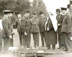 زيارة المغفور له -بإذن الله- الملك عبد الله بن الحسين الاول الى #لندن 1950