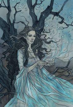 Magical fairytales illustrated by Liga Klavina