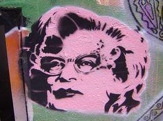 Richard Hamilton, the pop of Pop Art. Dame Edna, Graffiti Art, Pop Art, Stencils, Street Art, Hamilton, Face, Artists, Google Search