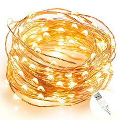 * Wow! I love this. Check it out now!: String Lights, Ottertooth Weatherproof 100 LEDs Starry String Lights,Copper Wire Lights Ambiance Lighting for Dancing, Christmas, Wedding, Holiday, Party - USB Powered,33ft/10m, Warm White-  at Christmas Decorations.