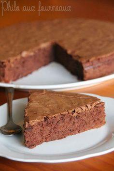 Gâteau au chocolat de Cyril LIGNAC alors si c'est cyril lignac je dis ouiiiiiii