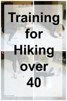 hiking over 40 1