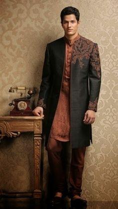 Groom Sherwani Collection By Indian Designer 2014