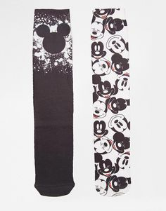 Just look at Mickey's smiling face on these socks from Asos—so cute! This set of two is technically for guys, but we think anyone can get away with this classic set of black and white Mickey Mouse socks.