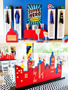 """Amazing """"Calling All Superheroes"""" Birthday Party"""
