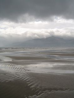 Dundrum, Northern Ireland, looking toward the Mourne Mountains