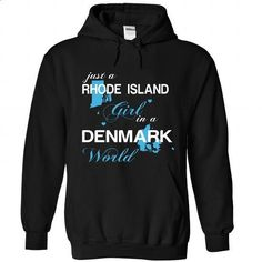 WorldBlue Rhode Island-Denmark Girl - #tshirt kids #sweater boots. SIMILAR ITEMS => https://www.sunfrog.com//WorldBlue-Rhode-Island-Denmark-Girl-5600-Black-Hoodie.html?68278