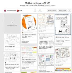 Plus de 100 liens vers des ressources en mathématiques pour le cycle 2 et le cycle 3 (jeux, exercices en numération, mesure, géométrie, techniques opératoires, problèmes, évaluations...)