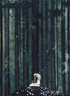 Scandinavian Fairy Tale Illustrations by Kay Nielsen 1914