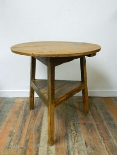 antique cricket tables make great end tables
