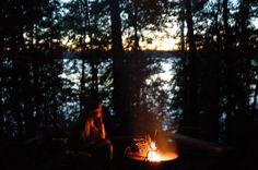 campfire...apostle islands