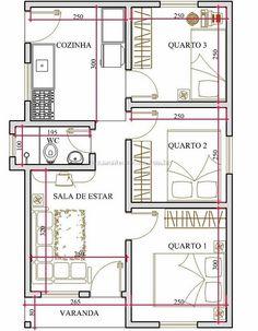 planos de casas de 9 por 10