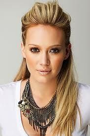 hilary duff half up hairstyle - Google Search
