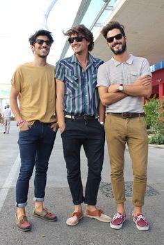 street style 2015 jean look men, women | Fashion 4 Guys, Street Style, Chicos con Barba