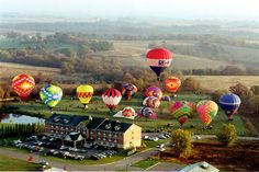 Galena, IL - take a hot air balloon ride over the awesome countryside