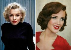 You just need a curling iron, a comb, and some bobby pins to DIY your own pin curls.