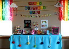 I DO invitations by michelle: Cami's Rainbow Dash {My Little Pony} 5th Birthday Party #rainbow #rainbowdash #mylittlepony