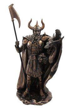 "Loki Statue Bronze Finish 10.75"" ($57.50)"