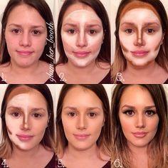 how to contour a big nose - Google'da Ara