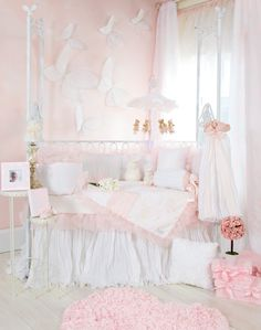 beautiful pink baby room