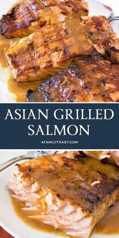 Grilling Recipes, Fish Recipes, Seafood Recipes, Asian Recipes, Beef Recipes, Cooking Recipes, Recipies, Fish Dishes, Seafood Dishes