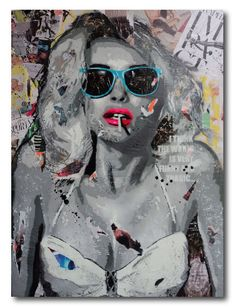 Modern Pop Art Painting by Yannick Hamon