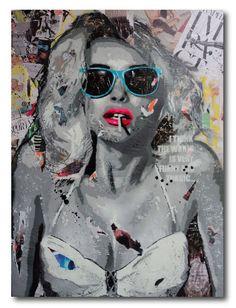 Modern Pop Art Painting by Yannick Hamon
