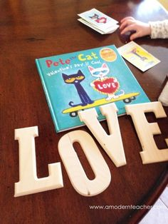 Pete the Cat for Valentine's Day